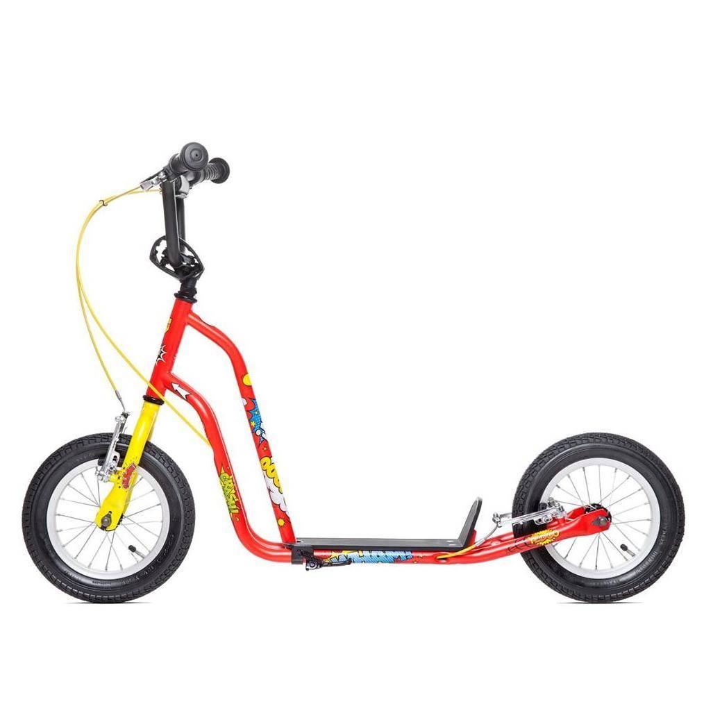 trottinette enfant yedoo wzoom 6 ans grandes roues. Black Bedroom Furniture Sets. Home Design Ideas